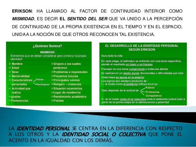 TAJFEL (1981) HA DEFINIDO A LA IDENTIDAD SOCIAL COMO AQUELLA PARTE DEL AUTOCONCEPTO DE UN INDIVIDUO QUE DERIVA DEL CONOCIM...