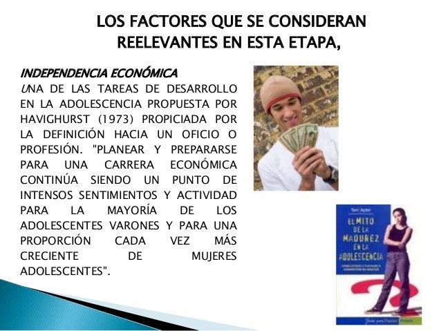 . INDEPENDENCIA FAMILIAR DENTRO DEL FACTOR SENTIMIENTOS DE INDEPENDENCIA PODRÍA HABERSE INCLUIDO EL FACTOR INDEPENDENCIA F...
