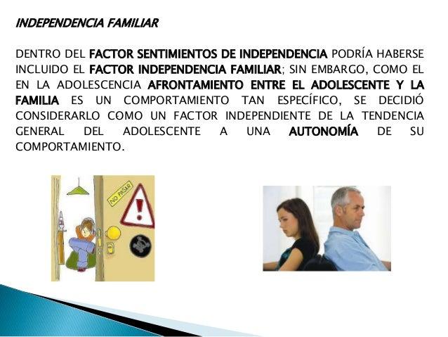 INDEPENDENCIA SOCIAL, FAMILIAR Y ECONOMICA HAVIGHURST 1973 AL ASIGNAR COMO UNA TAREA DE DESARROLLO EN EL ADOLESCENTE EL LO...