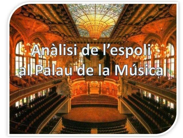 """""""El cas de l'espoli del Palau de la Música s'hagués pogut evitar mitjançant una millor estructura del sistema"""""""