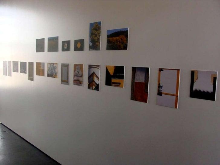 Galeria da Exposição 39º17'27N; 7º25'49W