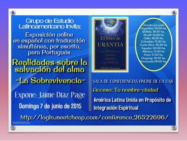 Ao ler e estudar a Revelação do Livro de Urântia, veremos que o seu propósito é salvar as almas dos homens. Eu sinto que e...