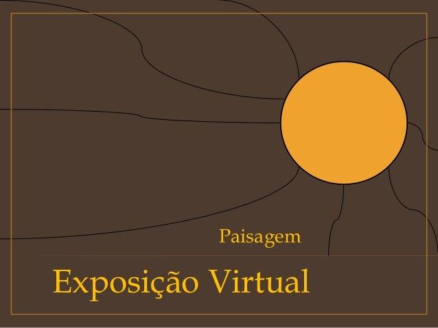 Exposição Virtual Paisagem