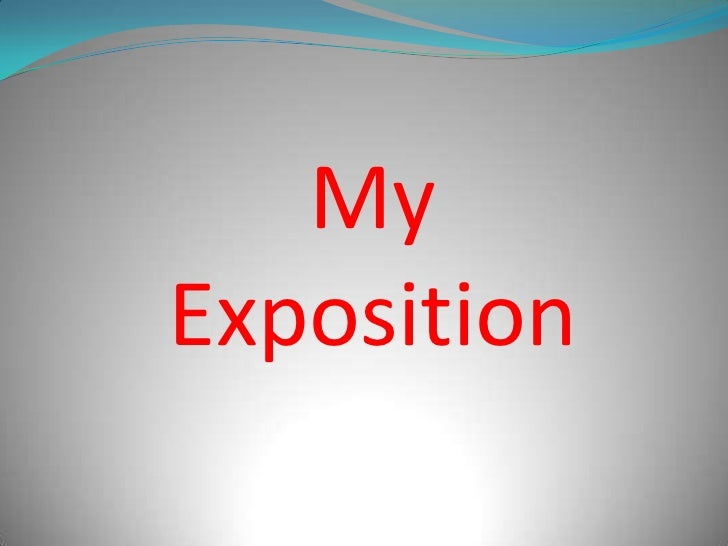 MyExposition<br />