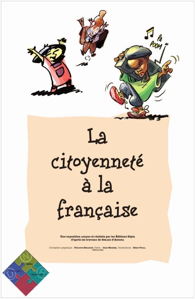 Exposition  La citoyenneté à la française