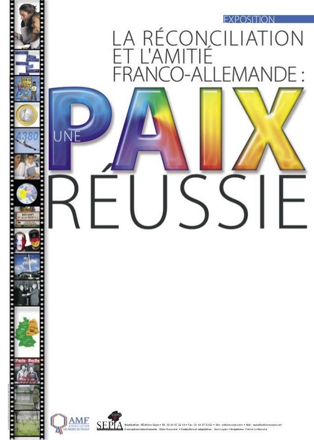 EXPOSITION© Didier Rousselet/PM/DR/Fotolia/Université franco-allemande/PLM2/OFAJ-DFJW-                                    ...
