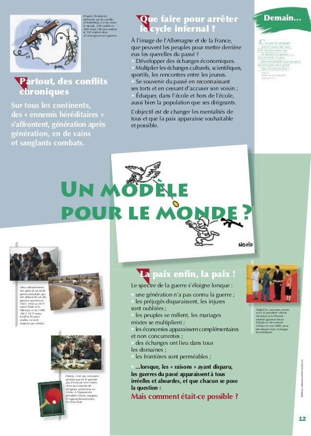 Exposition réconciliation et amitié franco-allemande : pour une paix réussie