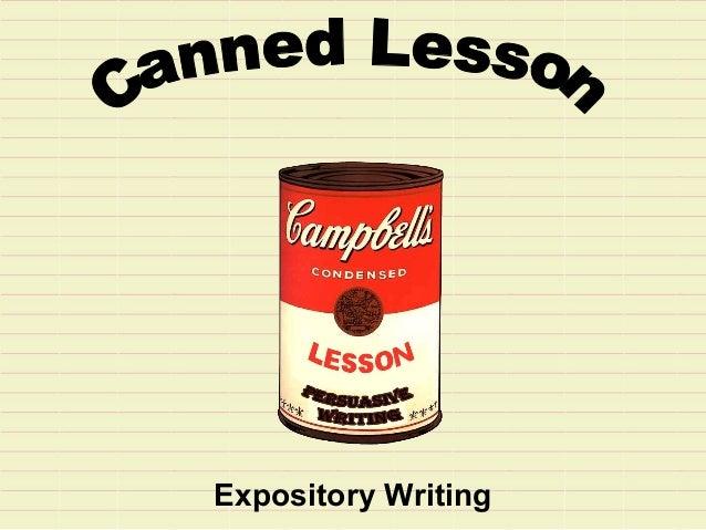 informative essay components