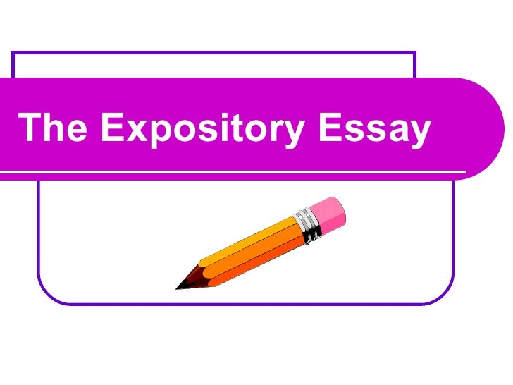 explanatory essay powerpoint Classification essay in the expository essay below, the writer identifies and explains three types of armor that have been developed over thousands of years of history.