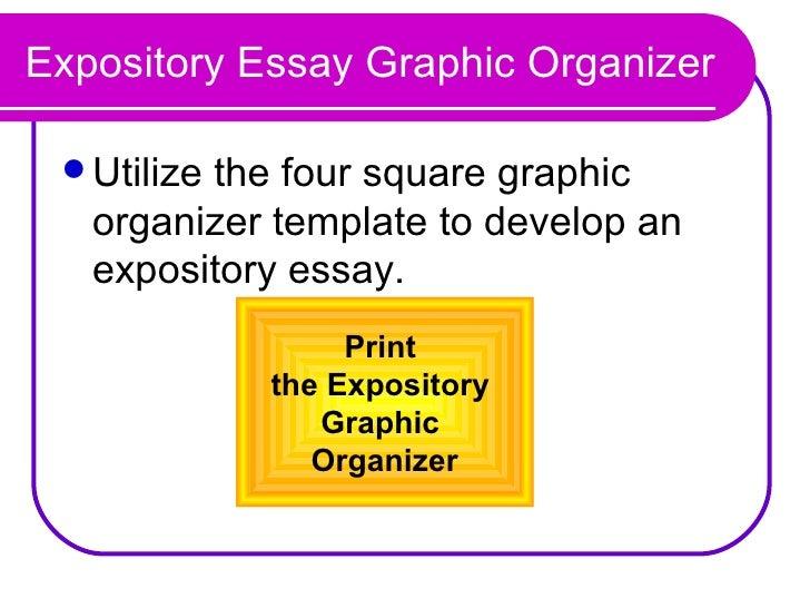 expository essay organizer
