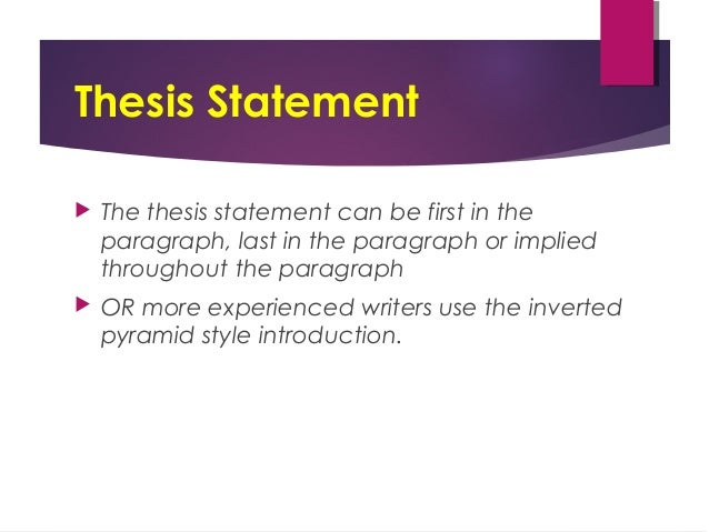 expository essay powerpoint russellrodrigo thesis statement