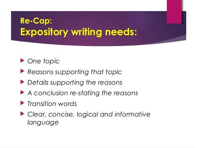 Expository Essay PowerPoint Russellrodrigo