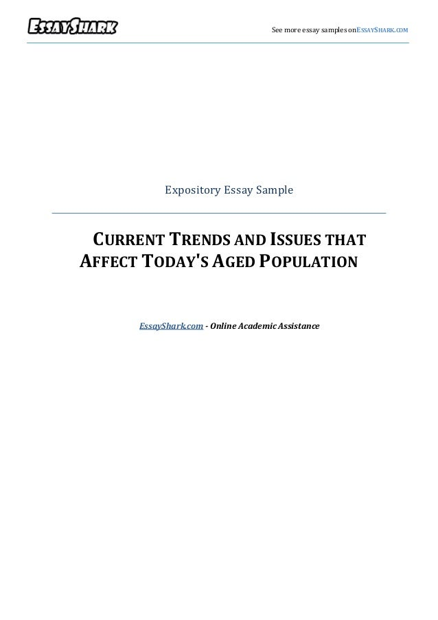 Sample Expository Essay Example