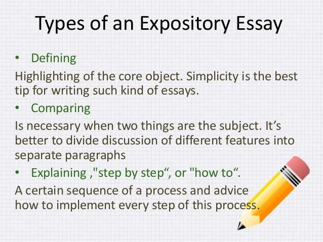 Easy expository essay topics