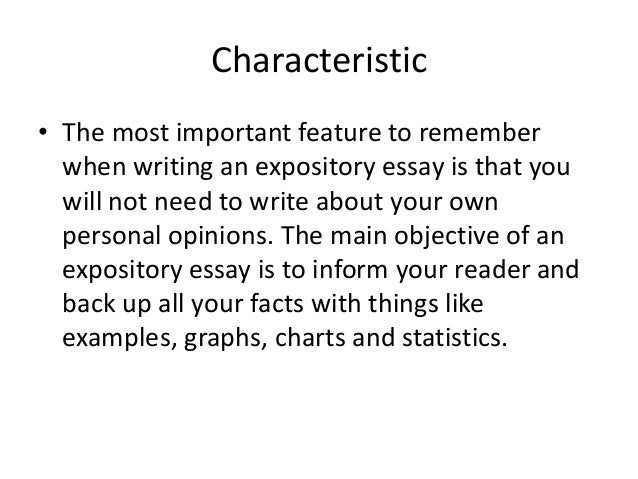 how to make an expository essay