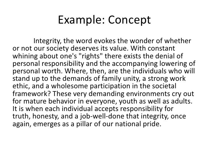 Example Paragraph Idealstalist