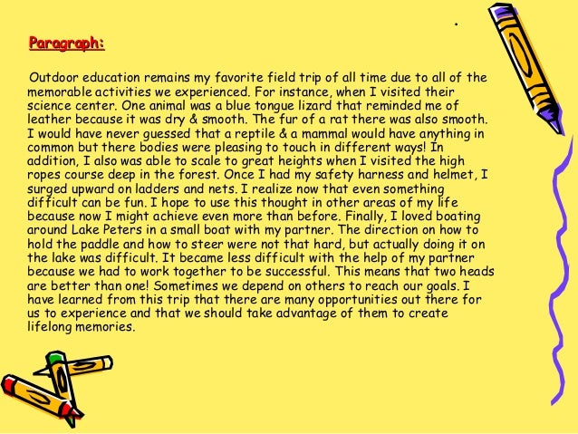 how to start an expository paragraph