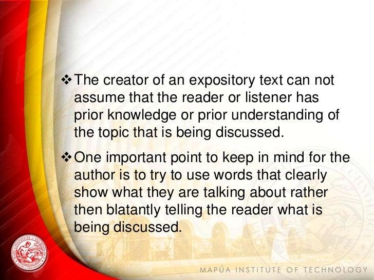 expositional essay