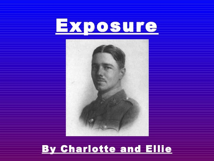 Exposure By Charlotte and Ellie