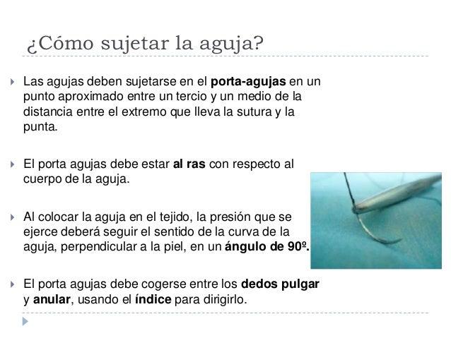 Clasificación según la inserción del hilo De ojo simple o acanalado De ojo automático o de ojo francés