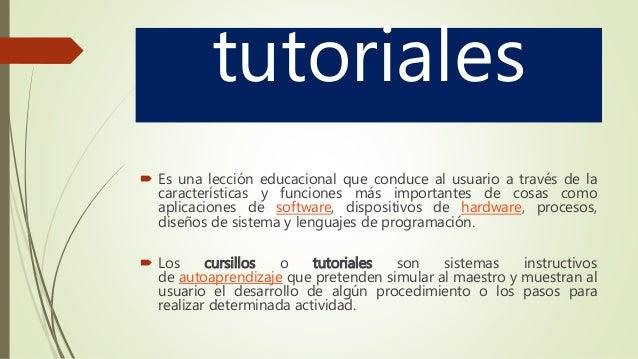 Expo tutorial tutoriales hipertexto hipermedia.