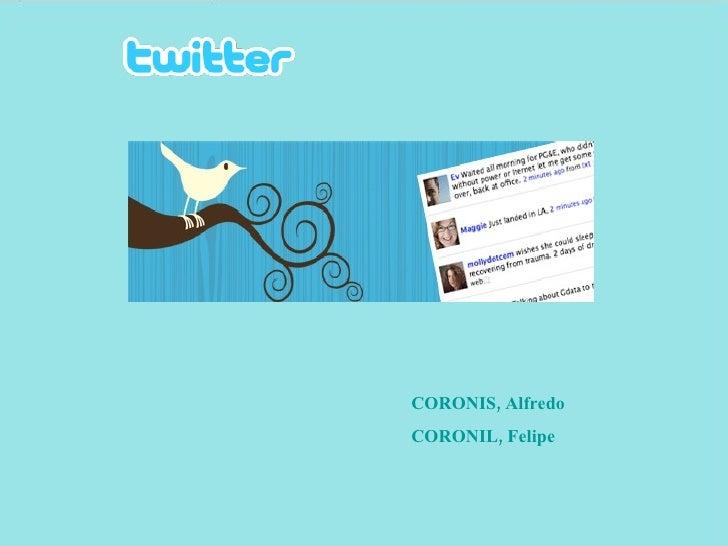 CORONIS, Alfredo CORONIL, Felipe