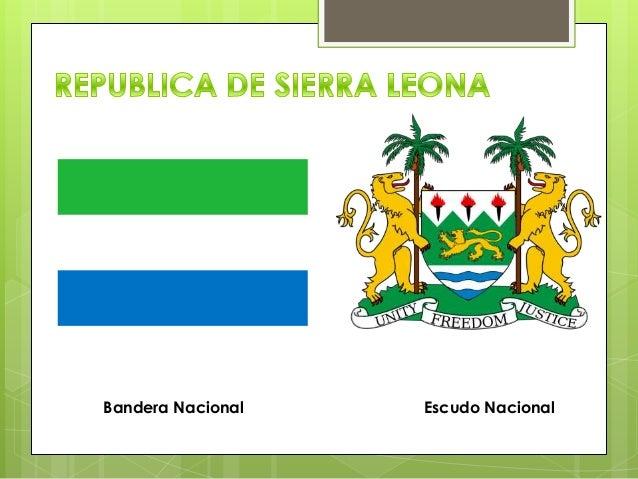 Bandera Nacional Escudo Nacional