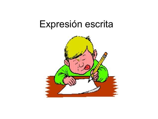 Resultado de imagen de expresión escrita