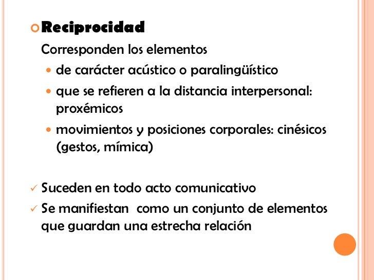 ejemplos de reciprocidad