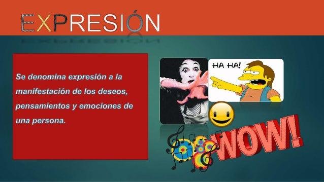 Expresión oral y escrita Slide 2