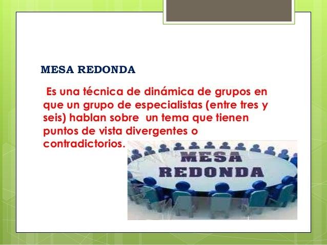 Expresi n oral y escrita bonellysmorenoambarbarreraxiomaraguanipa - Que es mesa redonda ...