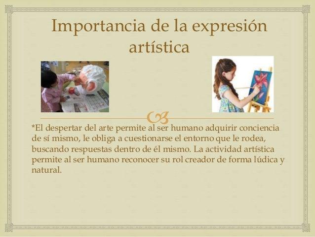 expresion artistica