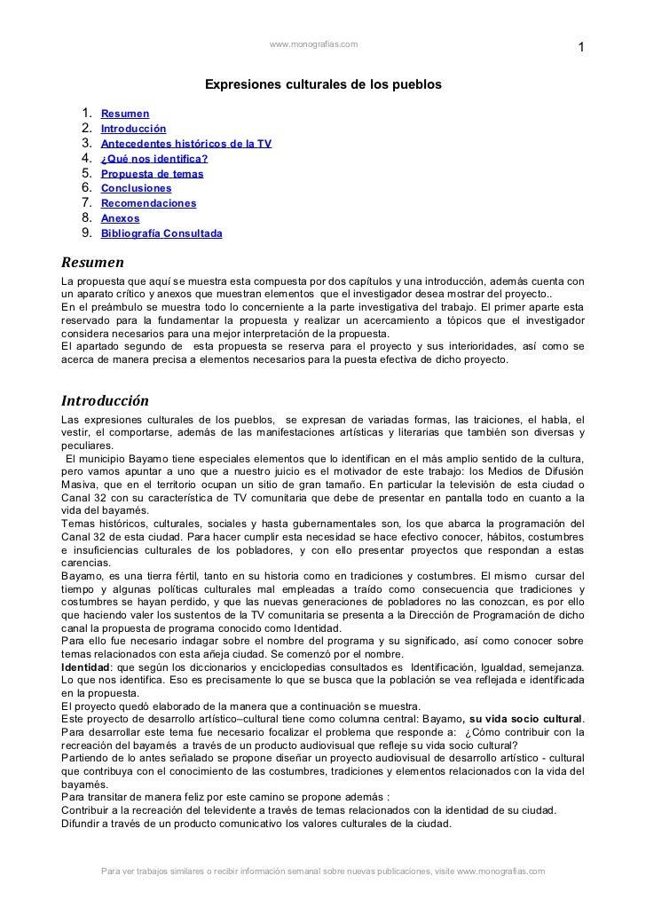 www.monografias.com                                                      1                                   Expresiones c...
