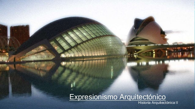 expresionismo arquitectura
