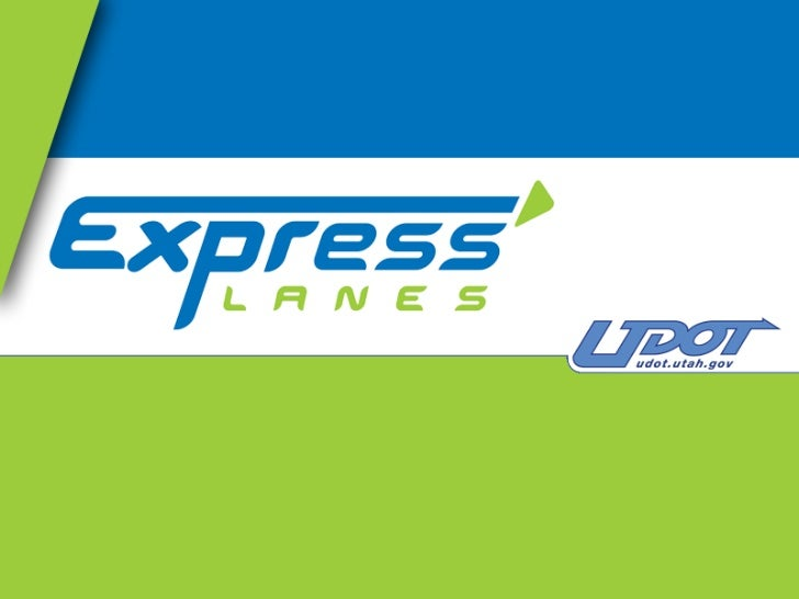 Express Lanes Users                                                     Vehicles using the Express Lane                   ...