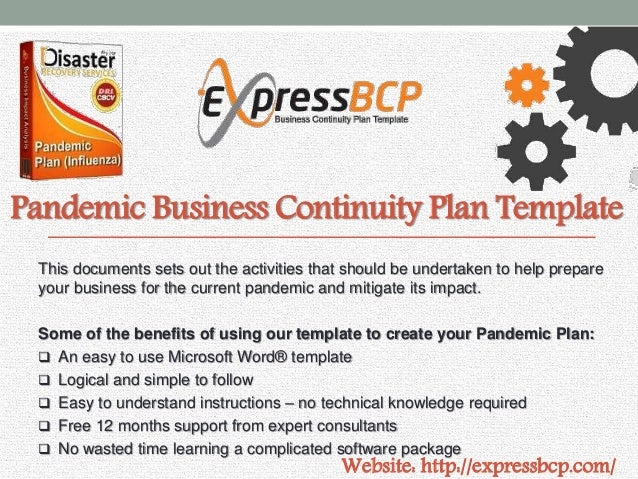 Express BCP : Business Continuity Plan Template