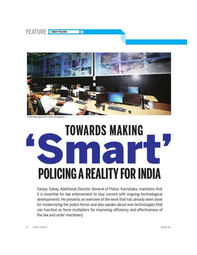 Towards Making Smart Policing a Reality for India