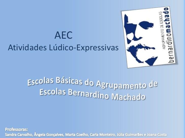 AECAtividades Lúdico-Expressivas