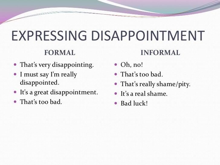 Expressing feelings1
