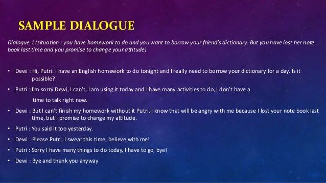 English Lesson Xii Sma On Expressing Promise Janji