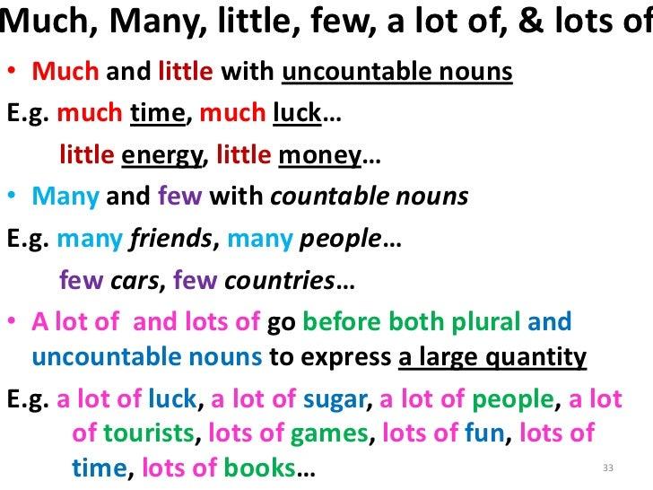few a few little a little exercises pdf