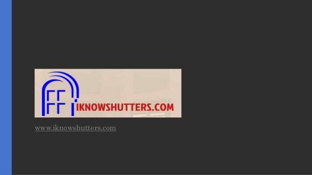 www.iknowshutters.com
