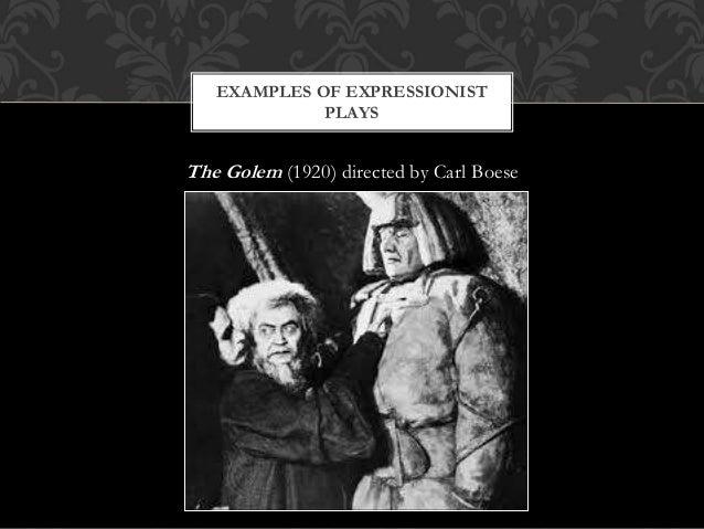 expressionism in theatre