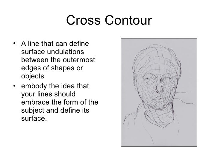 Cross Contour Line Drawing Definition : Expressive hands