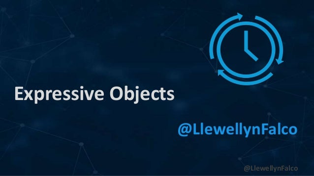 @LlewellynFalco Expressive Objects @LlewellynFalco