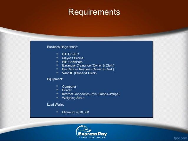 Bayad center business plan