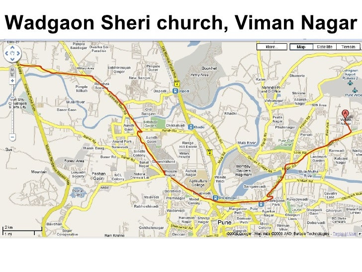 Wadgaon Sheri church, Viman Nagar