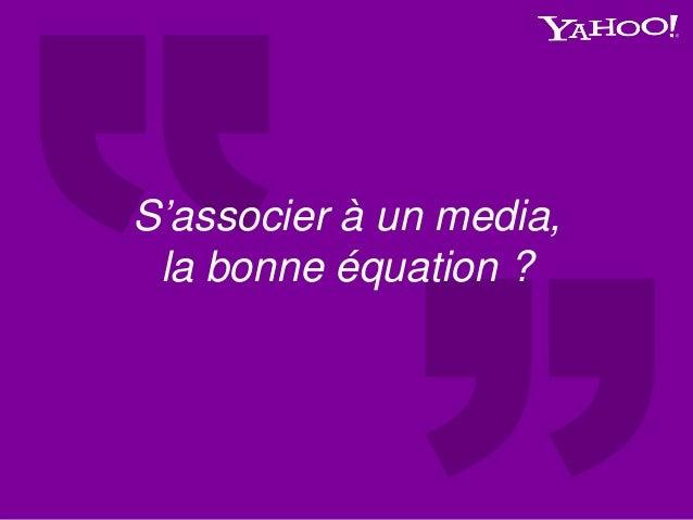 S'associer à un media, la bonne équation ?
