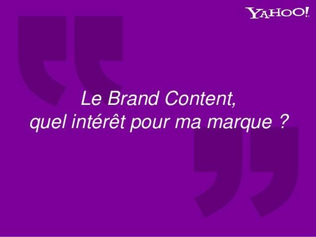 Le Brand Content, quel intérêt pour ma marque ?