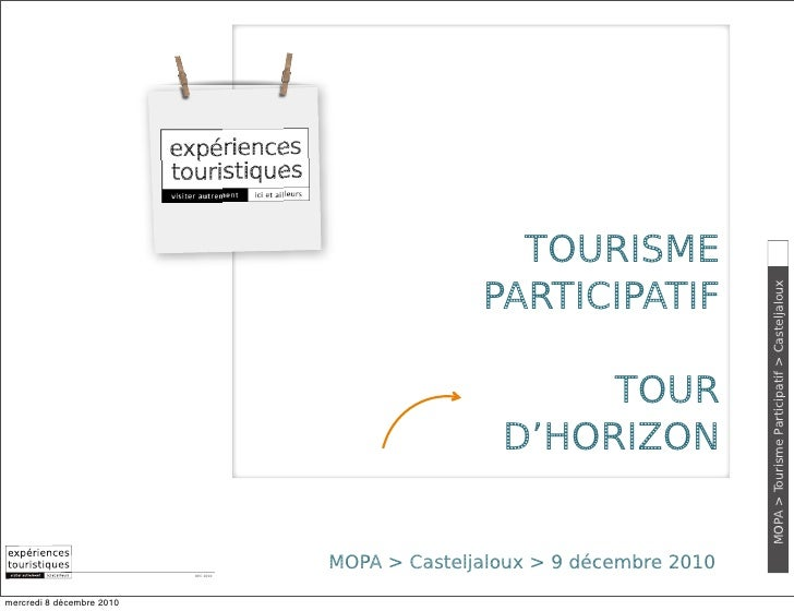 TOURISME                                                    PARTICIPATIF                                                  ...